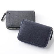 【免邮中国】日本制造 CYPRIS 男士真皮短款拉链钱包黑色RfasteB 含税到手价18127日元(约1160元)