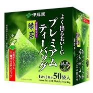 日亚销量第一:伊藤园 抹茶入 立体三角速泡绿茶包50袋 特价778日元(约47元)