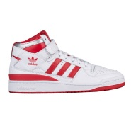 Adidas Originals 三叶草 人气时尚休闲款 Forum Mid 男士中帮运动鞋 红白纪念款 $99.99(约724元)