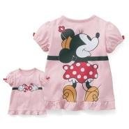 Belle Maison 千趣会 disney 迪士尼手牵手女童T恤 多款可选 691日元(约41元)