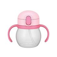 【中亚Prime会员】THERMOS 膳魔师 婴儿吸管学饮水杯 NPD-250 浅粉色(LP) 250ml 9个月~ 到手价75元
