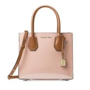 【这么美还有有折扣 简直太有人性了!】Michael Kors  Mercer 粉色漆皮中号手提包