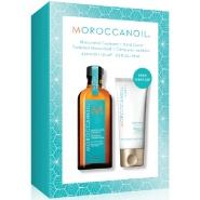 【额外7.5折再来】Moroccanoil 摩洛哥油护发精油125ml+护手霜75ml 超值套装