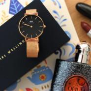843元直邮到手!【法亚直邮】Daniel Wellington 丹尼尔惠灵顿 女士不锈钢表带腕表 DW00100161
