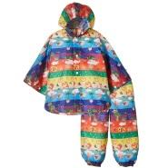 【中亚Prime会员】Solby 儿童雨披雨裤/花朵及多彩水果图案 到手价152元