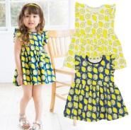Skipland 斯克莱 触感冰凉+吸水性超强柠檬图案连衣裙 1430日元(约92元)