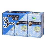 【中亚Prime会员】Kao 花王 乐而雅 薄款卫生护垫36片×3包 到手价59元