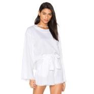 Kendall+Kylie 磨边宽松款上衣 $80(约579元)