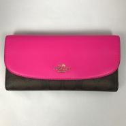 【包邮包税到手!】COACH 蔻驰 17年新款 女士长款钱包 3色选 送卡包