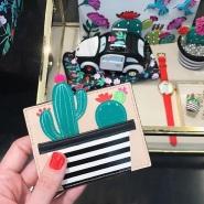 夏日趣味新品!kate spade 官网:精选 折扣区仙人掌等趣味包袋、服饰、鞋履、配饰等