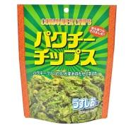【黑暗料理】日本味源 香菜薯片59g 374日元(约22元)