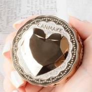 新款补货!CANMAKE 美肌护肤金色爱心 透明素颜粉 918日元(约55元)