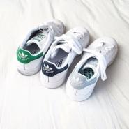 Adidas Originals 三叶草 Stan Smith 大童款运动鞋 $40(约290元)