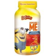 【美亚自营】L'il Critters 儿童多种维生素软糖190粒 小黄人版