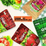 【低至2.5折】澳洲Chemist Direct藥房中文網:DJ&A 蔬果干專場