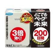 超低价!VAPE未来驱蚊器200日套装 灭虫灭蚊专用 本体+替换装 1480日元(约89元)