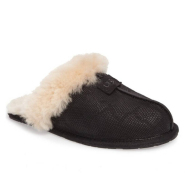 UGG Scuffette II Snake Embossed Slipper 女款羊羔毛家居拖鞋 仅限7码
