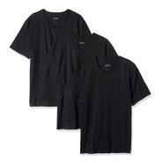 【美亚直邮】BOSS Hugo Boss 纯色男士V领T恤3件装