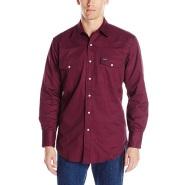 【中亚Prime会员】Wrangler 威格 男款纯棉长袖衬衫
