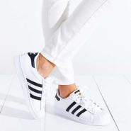 【大脚福利!】Adidas Originals 三叶草 superstar 女士金标贝壳头运动鞋