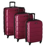【美亚自营】Samsonite 新秀丽 Omni PC 拉杆箱3件套 玫红色