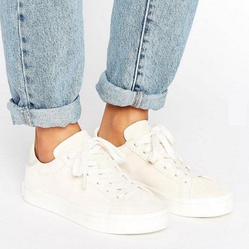 【免費直郵中國!】史低價!adidas Originals 阿迪達斯  Court Vantage 女士復古運動鞋
