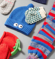 Gilt:精选 Portolano 童款羊绒帽子、围巾、手套等