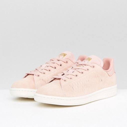 【免費直郵中國!】adidas 阿迪達斯 Originals Haze Coral Stan Smith 女士休閑運動鞋