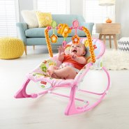 【中亚Prime会员】Fisher-Price 费雪 婴幼儿玩具摇椅 兔子款