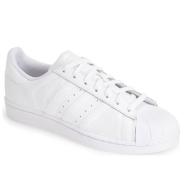 adidas Originals White Superstar 男款全白款运动鞋