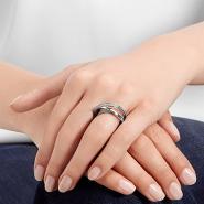 【补货!】Swarovski 施华洛世奇 SPIRAL MINI 螺旋交叉戒指