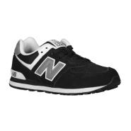 码全+免邮!黑白超近经典配色 免邮 New Balance 574 大童款运动鞋