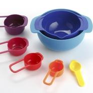 【中亚Prime会员】Joseph Joseph 和面搅拌料理盆彩虹碗7件套