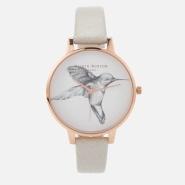 【免费直邮中国】Olivia Burton Animal Motif 女士蜂鸟手表