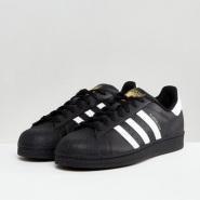 【免费直邮中国!】Adidas Originals 三叶草 superstar 男士金标贝壳头运动鞋