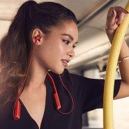 【中亚Prime会员】SONY 索尼 MDR-XB70BT 无线蓝牙线控入耳式耳机 红色