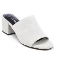【7折!免费直邮中国】Senso Ray 女士麂皮粗跟穆勒凉鞋