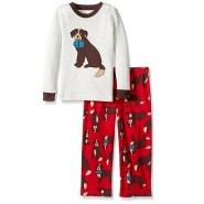 【中亚Prime会员】Carter's 卡特 女童长袖两件套睡衣