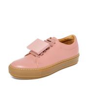 Acne Studios Adriana Turnup 女款粉色笑脸运动鞋