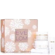 【持平网一价】价值£170+送价值£39赠礼!EVE LOM 圣诞限量 卸妆膏+美白精华+美白面霜超值套装