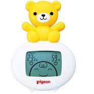 【银联信用卡支付满减活动+prime会员免费送】 Pigeon 贝亲 小熊室内两用电子温湿度计