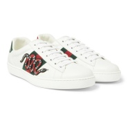 Gucci 古驰 Ace Embroidered 男士刺绣运动鞋