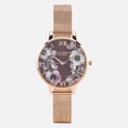 【55专享】【免费直邮中国】Olivia Burton Poppy Flower 女士小清新手表