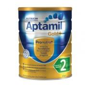 【3罐立减5澳】Nutricia Aptamil 爱他美金装 婴幼儿配方牛奶粉 2段 6-12个月 900g