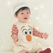 Belle Maison 千趣会 迪士尼 婴儿贴身连体衣