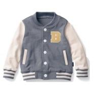 Belle Maison 千趣会 儿童棒球服夹克外套