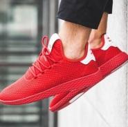 全线折扣!Adidas Originals 和 菲董PHARRELL WILLIAMS 合作款 Tennis Hu 运动鞋
