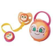 【日本亚马逊】 面包超人毒菌妹妹带盖安抚奶嘴套装