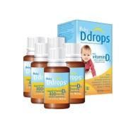 超值好价!Ddrops 婴儿维生素D3滴剂 400IU 90滴/瓶