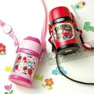 【日本亚马逊】 象印 儿童保温杯 双盖吸管杯 450ML